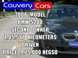 BMW 5 Series 520d, 2008, Petrol