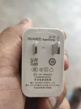 Huawei 40 w box pulled out charger with cable