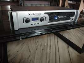 Amplifier for sale crown xls 1000