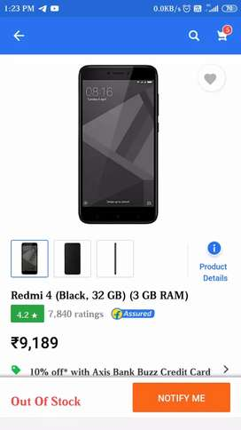 Redmi 4 , 3000 Rs only Good Condition