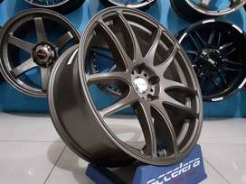 Velg mini cooper cabrio mercy CR KIWAMI KS091  19x8.5-9.5 5x112  73.1