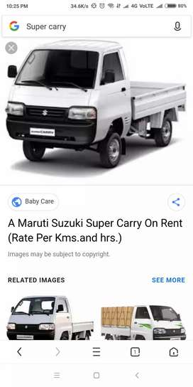 Wanted maruthi super carry vehcle