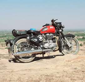 My royal Enfield bike is a very good condition bike and good fuchar