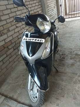 Recently insured perfect running scooty with pollution updated