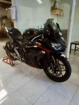 Yamaha R 25 thn 2014 bali dharma motor