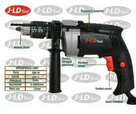 Mesin Bor Tembok Beton JLD TOOL 13-2 13mm Electric Hammer Impact Drill