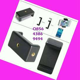 Holder HP -pasang tongsis -tripod / holder tambahan motor ==>2 Posisi