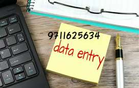 Urgently opening for data entry jobs salary weekly/monthly