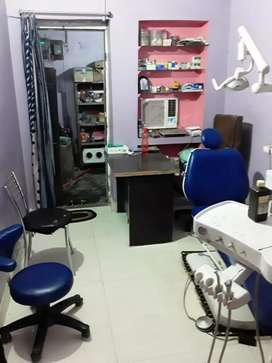 Well furnished dental clinic for rental or share basis