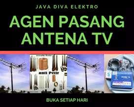 Jasa pasang terdekat antena tv lokal senen