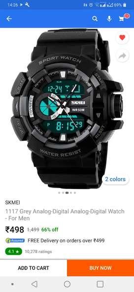 Skmei ka watch 400 me