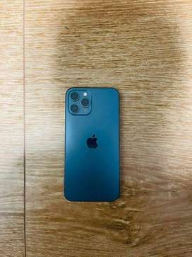 Iphone 12pro 128gb pacific blue full new conditions with bill and seal