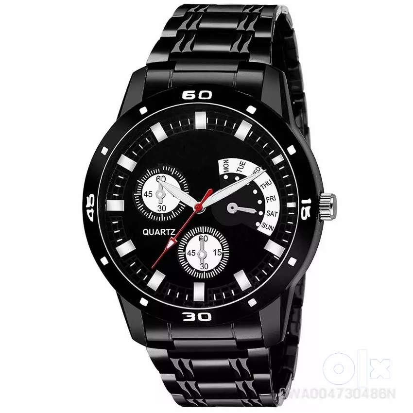 Timex white analog watch 0