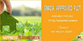 100 Gaj Plot For Sale Facing-Park Location (IT City, Mohali)