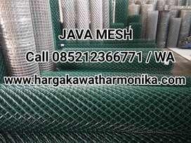 Jual Kawat Harmonika Galvanis dan PVC Langsung Pabrik