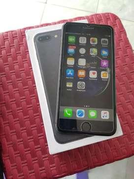 Iphone 7 plus 128 fulset murah bu bos