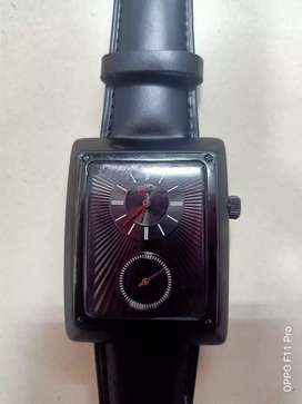 jam tangan braun buffel black sub second germany