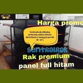 Rak minimarket panel  baru baja gondola supermarket