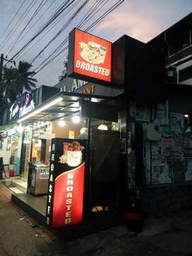RESTAURANT FOR SALE  OR  LEASE  INLCUDING MACHINES