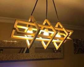 Kap lampu RUSTIC kap lampu gantung kap lampu modern kap lampu kayu