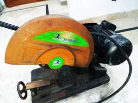 3 phase power cutter bench cutter complete with motor