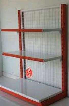 rak gondola supermarket-single tinggi 120-free kirim-TOTAL POS