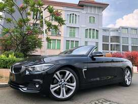 BMW 430i Sport Cabrio 2019 Facelift Black 8rb Wrnty5Thn Speedo Digital