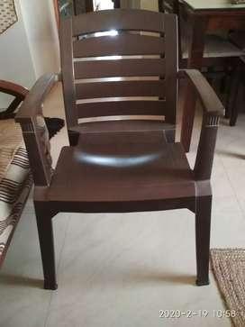 Garden Chairs 2 nos