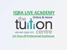 Professional Online & Home Tutor (11+Years Teaching Experience)