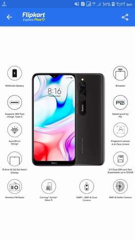 redmi 8 4/64 only 8500