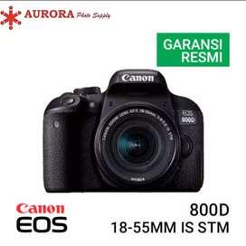 Canon 800d kit 18-55mm full set bonus