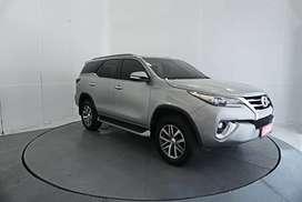 Toyota Fortuner 2.4 VRZ AT 2017 Silver