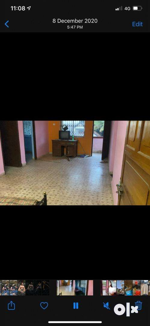 3bhk semi furnished flat for rent 0