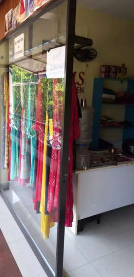 Shop interiors and glass door for sale