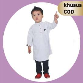 Bisa COD | Baju Koko Kurta Pakistan Anak-anak plus Celana Kanvas
