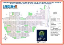 DTCP approved residential open plots @ AMANGAL