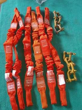 Sackle dan wibing sling kapasitas 1 ton