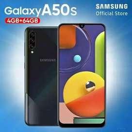 Murah new Samsung A50s 4/64 grs resmi, bs tt