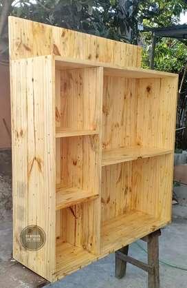 Rak Buku kayu jati Belanda Di Medan / Lemari Kayu Jati Belanda