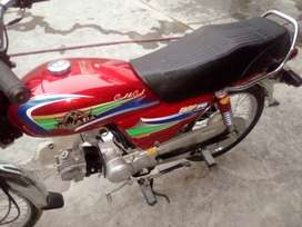 New Asia bike good condition no work required full new lgti Hy