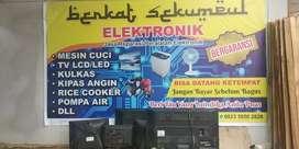 Servis kulkas,TV(Led/Tabung/lcd/plasma),Pompa Air,DLL