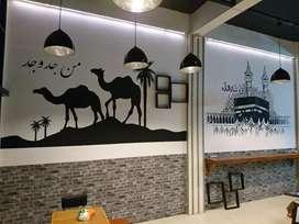 Jasa lukis mural lukisan tembok cafe