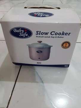 BABY SAFE SLOW COOKER 0.8L NEW