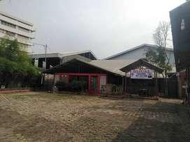 Tanah Bangunan Cocok utk gudang Jl.Raya Cimareme