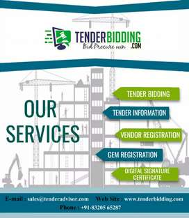 Tender Bidding-GEM Registration