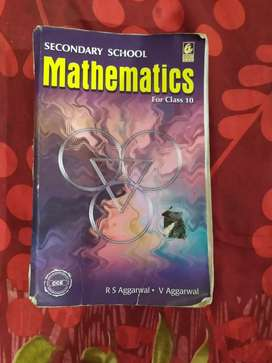 R.S AGGARWAL MATHS BOOK OF CLASS-10th At 70 %OFF