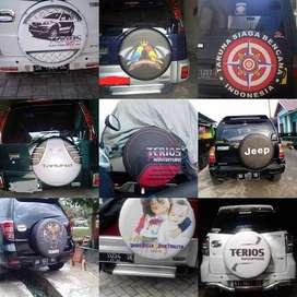 Sarung Ban terios rush jeep Cover Ban Hummer-Touring  Dll raja jalanan
