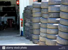 Only 20% to 30% Used Second Hand Tyres For All Vehicles.