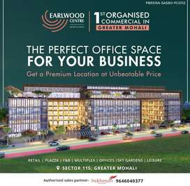 Office Space for sale in Sector 115 Mohali