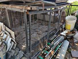 Bird Cages removable assembly, metal cage for Raw parrot and more